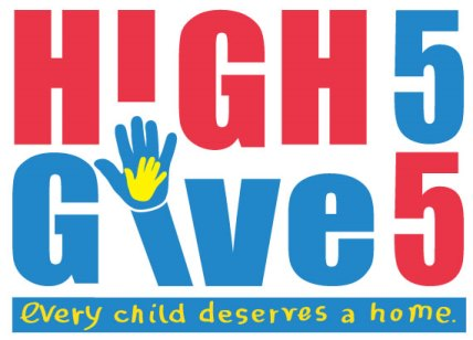 High 5 Give Five logo