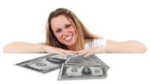 Woman Making Deposit Pixabay